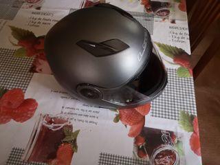 casco moto modular