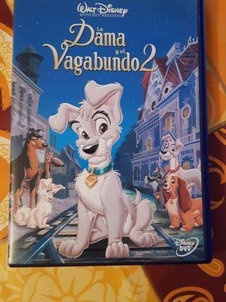 Peliculas dvd dibujos la dama y el vagabundo 2