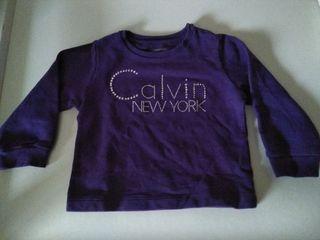 Sudadera niña 12 meses Calvin Klein