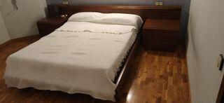 Muebles de dormitorio de matrimonio de madera