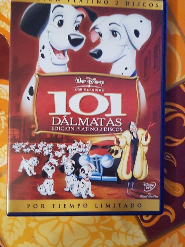 Peliculas dvd dibujos 101 dalmatas