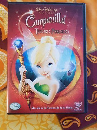 Peliculas dvd dibujos campanilla