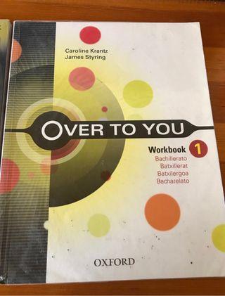 Libro inglés workbook, 1º bachillerato