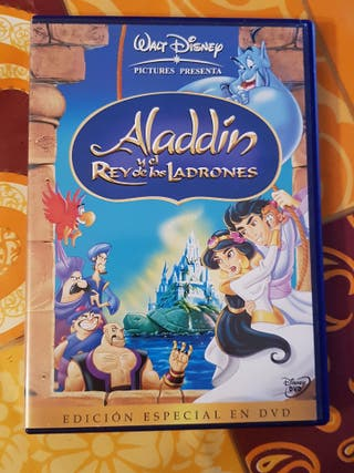 Peliculas dvd dibujos aladdin
