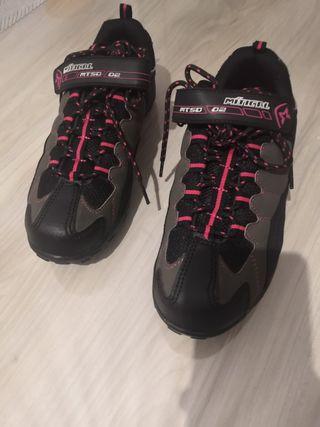 Zapatillas ciclismo Mistical n°39