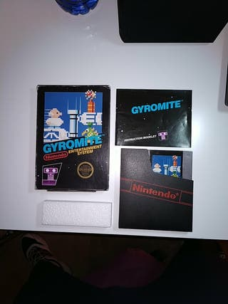 Gyromite Nintendo Entertainment System NES