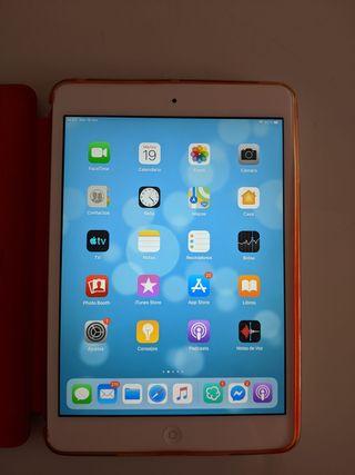 iPad mini 2 16gb Silver con funda original Apple