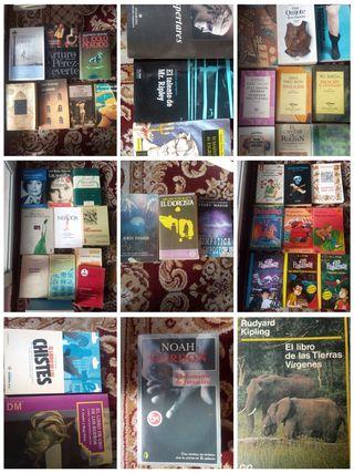 libros de todo tipo escolares adultos de siempre..