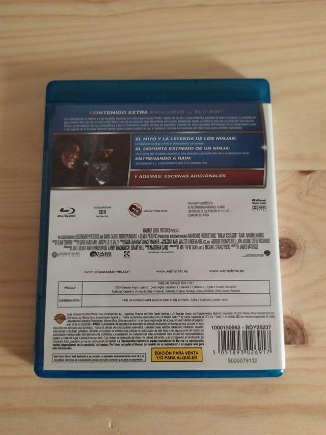 Ninja Assassin blu-ray (6x25€)