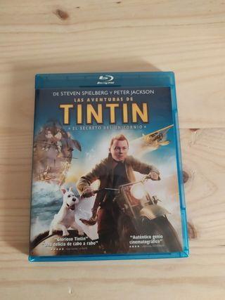 Las aventuras de Tintín blu-ray (6x25€)