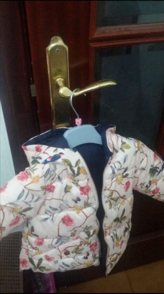 chaqueton reversible del Zara talla 2. nuevo