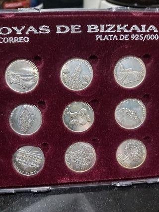 arras de plata,y coleccion monedas plata