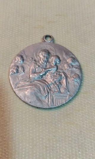 Medalla San José Y Niño Jesús