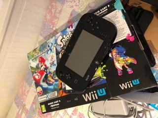 Wii U 32 con 8 juegos