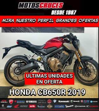 2019-2020 HONDA CB650R MEJORES OFERTAS ASEGURADAS