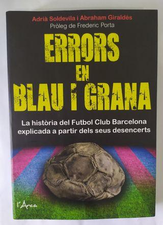 Llibre Errors en Blau i Grana.