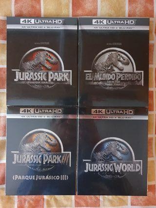 Jurassic Park (Parque Jurásico) en 4K