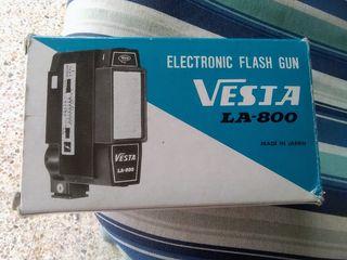 Flash electrónico Vesia LA-800 para cámara antigua