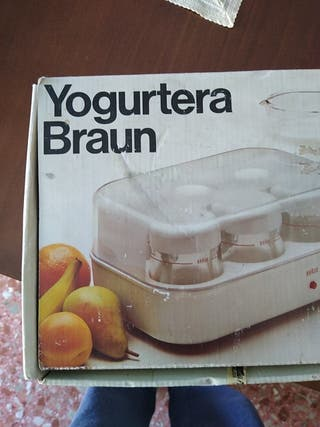 Vasos de yogur Braun