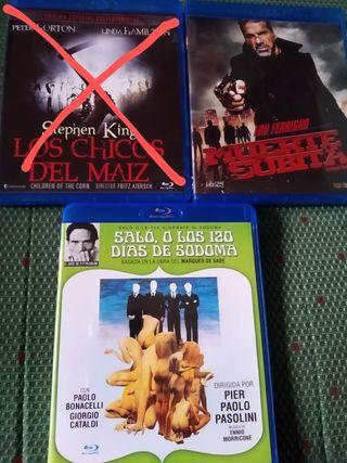 Película ORIGINALES Blu-Ray (Precio por cada una)