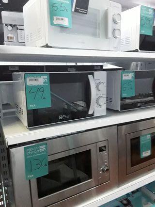 Microondas Eas electric EMB20L 700W Blanco 20L 5 N