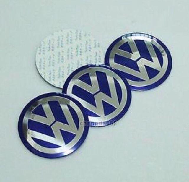 Emblemas ruedas Volkswagen New Beetle y Otros
