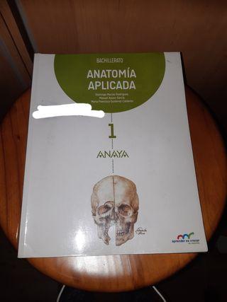 Libro Anatomía aplicada 1° bachillerato. Anaya