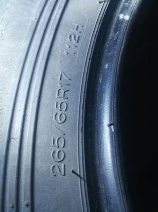 ruedas 265 65 17