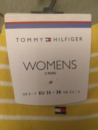 2 pares calcetines tommy hilfiger