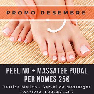 Peeling + Massatge Podal