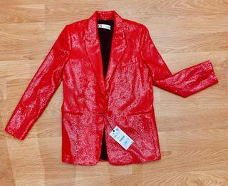 Blazer/ chaqueta lentejuelas talla xs