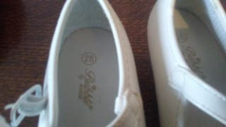 zapatos niña de flamenca