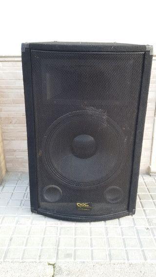 altavoces de discoteca acustic control
