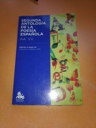 Segunda antologia de la poesía española