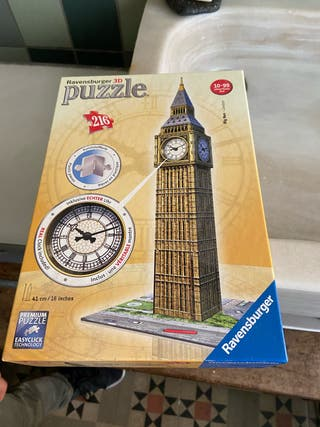 Puzzle 3D 216 piezas Ravensburger Big Ben