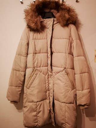 Plumas, abrigo, chaqueton beig