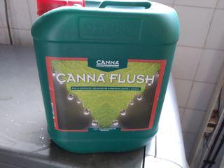 CANNA FLUSH. 5 litros para Cultivos
