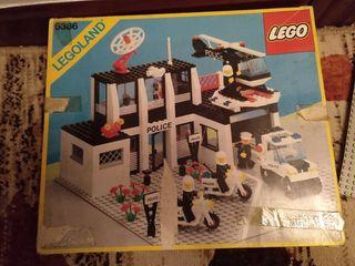 Legoland 6386 comisaria de policía LEGO DE 1986