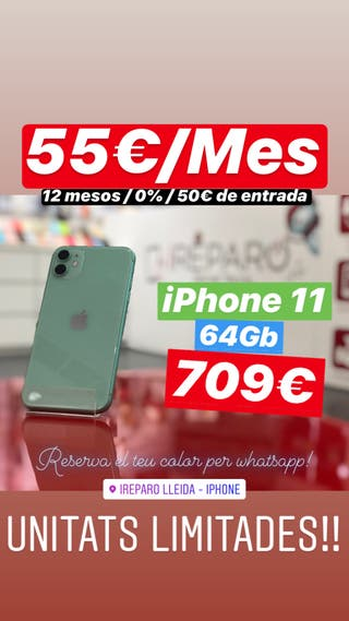 iPhone 11 - 64Gb - Grado A++ Garantia