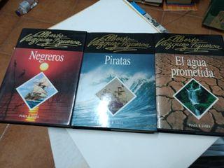 Pack 3 libros Vázquez Figueroa