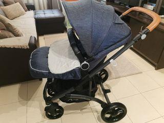 trío carro bebé byberit ares