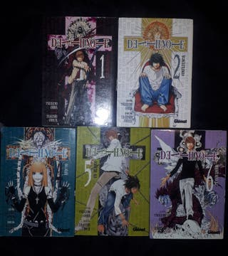 Comics manga Death Note Tomos 1,2,4,5 y 6