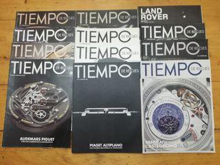 """Lote revistas """"TIEMPO DE RELOJES"""""""