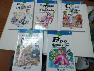 Pack 5 libros de lectura