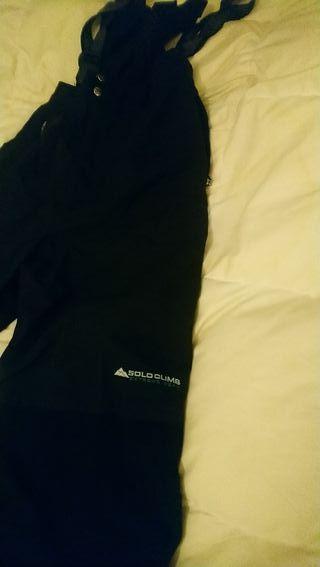 pantalón peto de esquí soloclimb