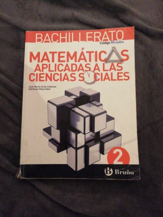libro matemáticas 2bach