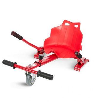 Asiento Kart - Hoverkart Para Hoverboard rojo