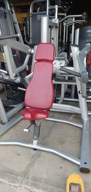 máquina gimnasio press frontal