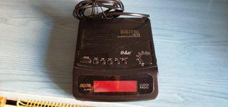 radio y despertador