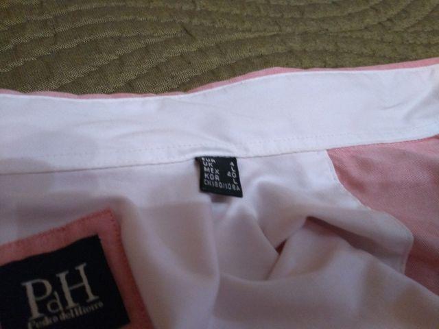 Camisa rosa de vestir Pedro del Hierro